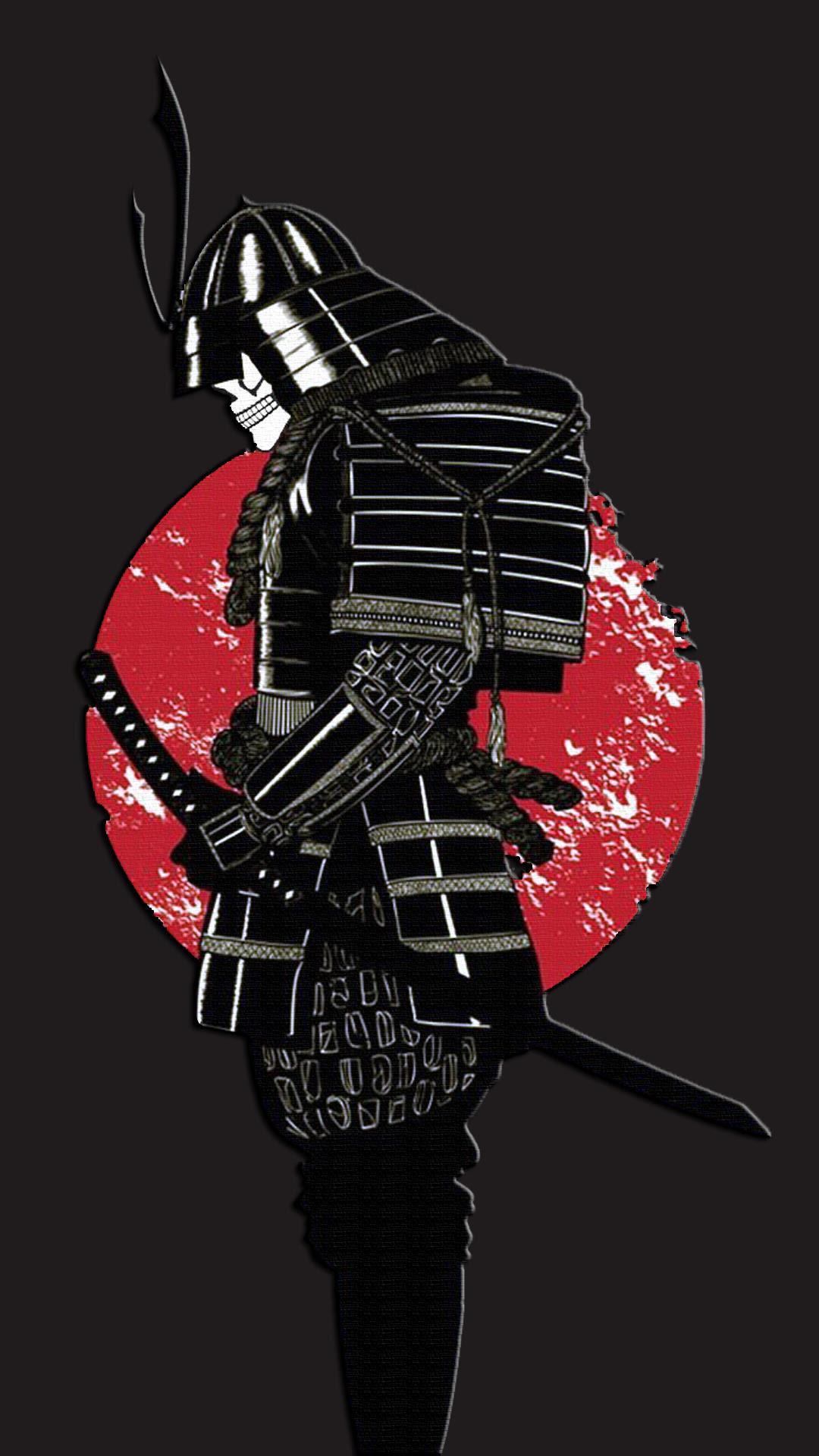 Samurai iPhone Wallpaper - Supportive Guru