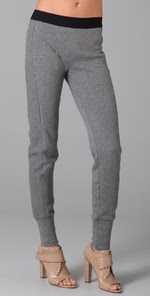 T by Alexander Wang Paneled Sweatpants