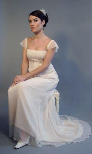 Jane Austen 19th Century Regency Georgian wedding dress
