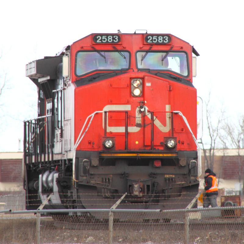 CN 2583 in Winnipeg