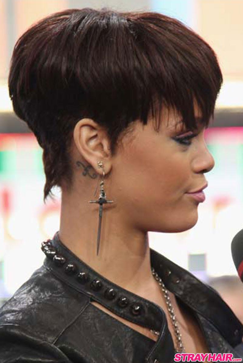 Rihannas Many Great Short Hairstyles – StrayHair