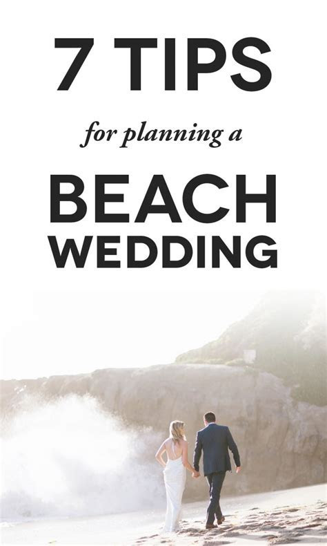 7 Important Things to Check For Your Beach Wedding A