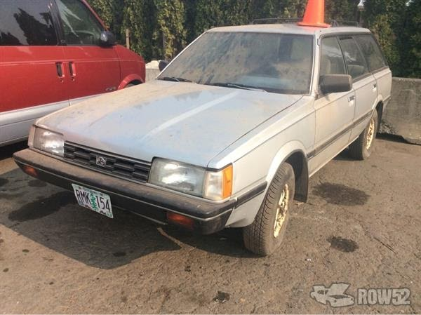 Subaru Station Wagon 1986