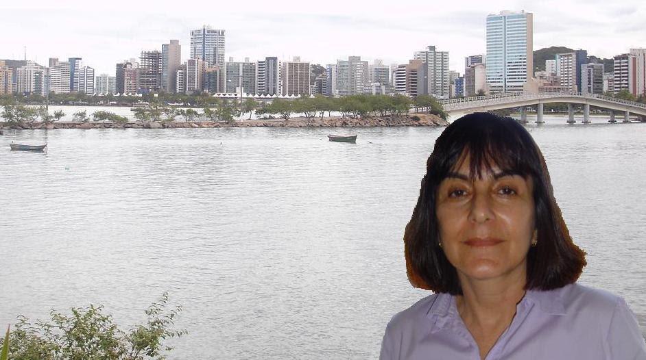Rita de Cássia e vista sobre Vitória