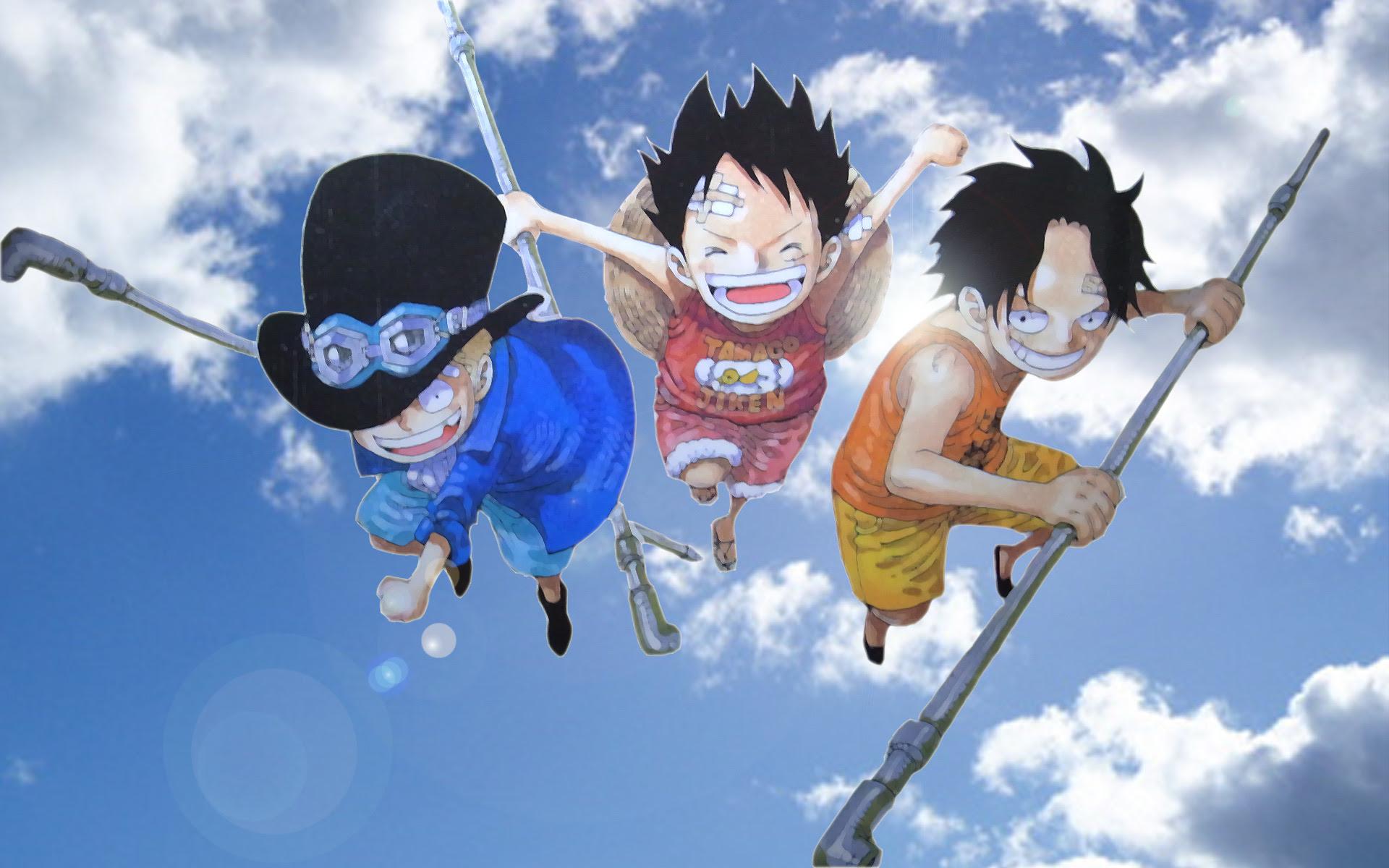 奇跡の桜 サボ エース ルフィ One Piece ポートガス D エース