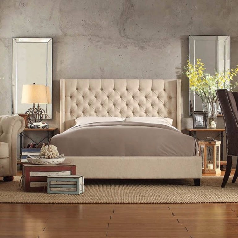 Exciting 2017 Bedroom Trends: Upholstered Beds – Master