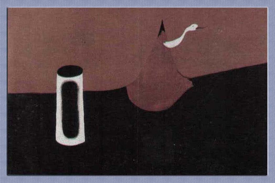 Resultado de imagen de Joan Miró, Paisaje (Paisaje de la serpiente) (1927)