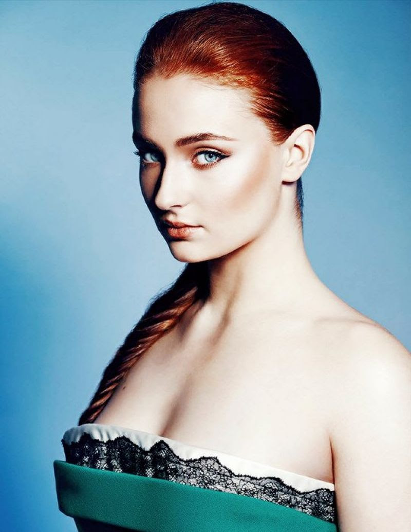 SOPHIE TURNER in Phoenix Magazine, Spring 2015 Issue