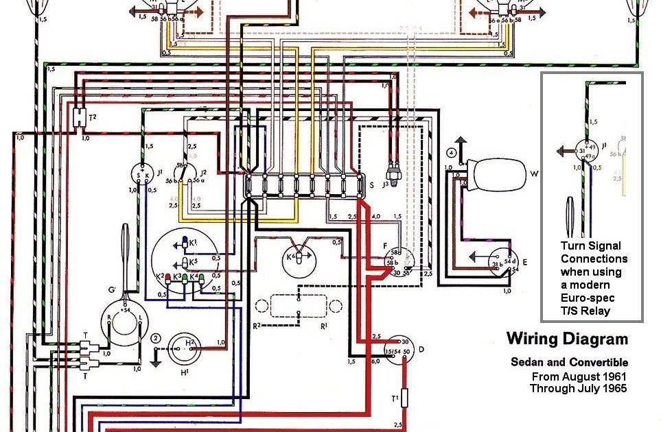 1965 Vw Starter Wiring Diagram Schematic