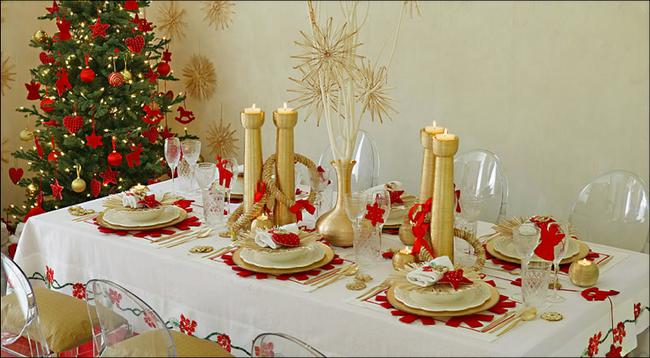 28 Christmas dinner table decorations and easy DIY Ideas