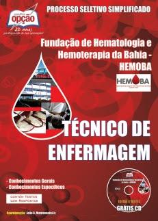 HEMOBA-TÉCNICO DE ENFERMAGEM