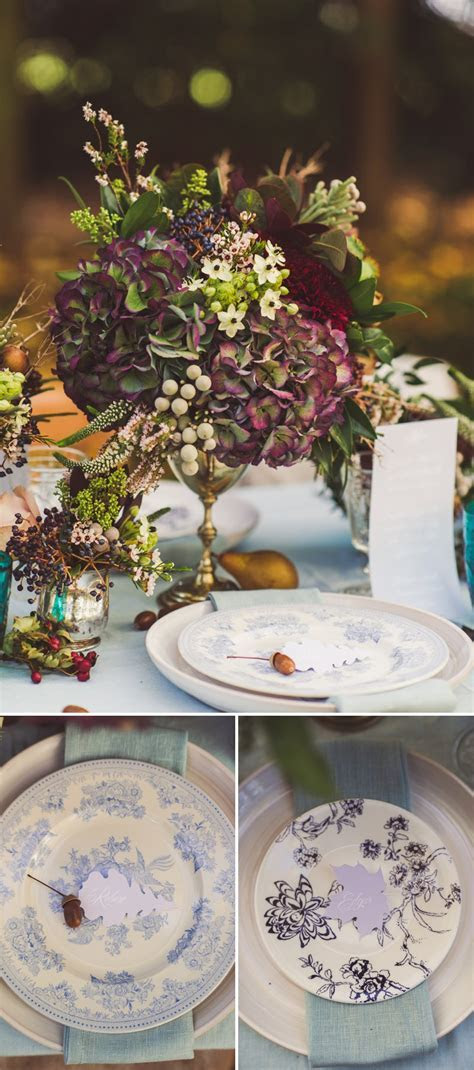 Autumn Fall Inspired Wedding Decor and Fashion Editorial