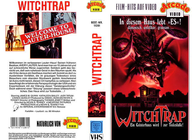Witch Trap (VHS Box Art)