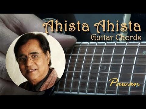 Bollywood Songs On Guitar: Ahista Ahista - Jagjit Singh - Guitar ...