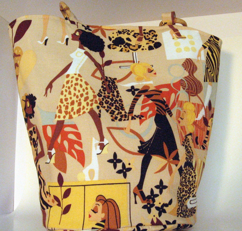 Jungle Fever Tan Diva Tote Bag