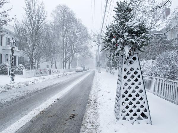 Edgartown, Snow, Christmas