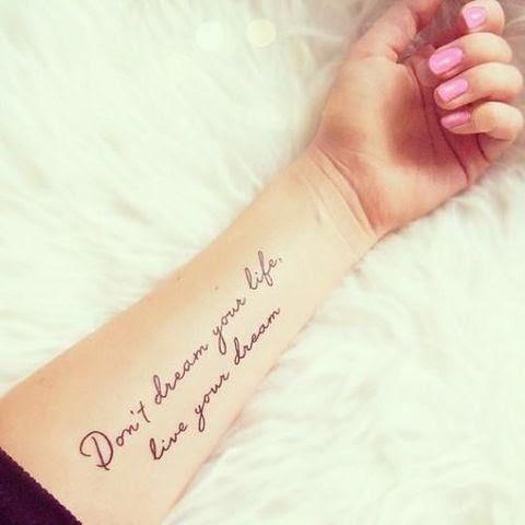 Los 10 Frases Mas Inspiradoras Para Tatuarse Y Su Significado Me