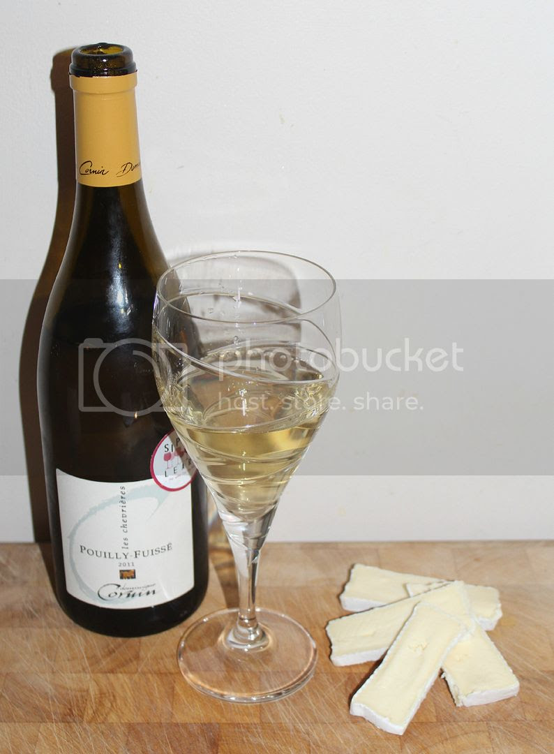 Chardonnay and brie