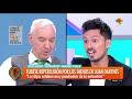 El llamativo pedido de Juan Darthés y sus hijos a Mauro Viale ni bien terminó la entrevista