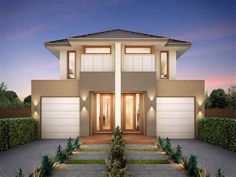 small modern duplex house plans  pictures design center