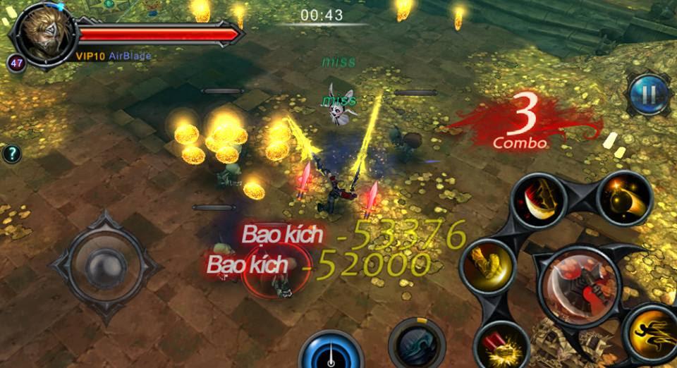 cách chơi game Cabal Mobile cho máy tính