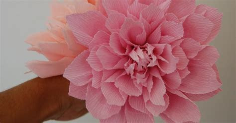 Pink Dahlia sampler for Katie   Handmade PaPer FloweRs by