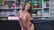 Ana Carolina Dias sensual na novela Fina Estampa