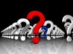 ordered question marks