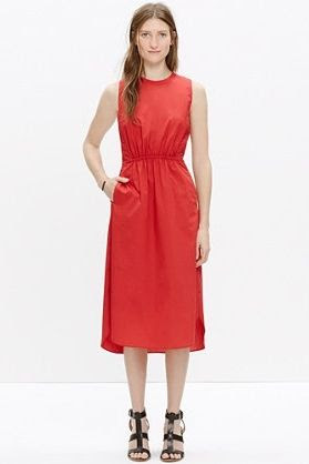 Madewell Cotton Lakeshore Midi Dress