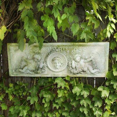 OrlandiStatuary Cherub Victorian Plaque Wall Decor   Wayfair