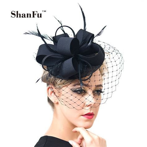 Online Get Cheap Black Fascinator Hat  Aliexpress.com