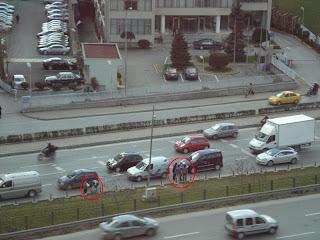 Trafik sıkışık olmadığı için işlerini yapamıyorlar
