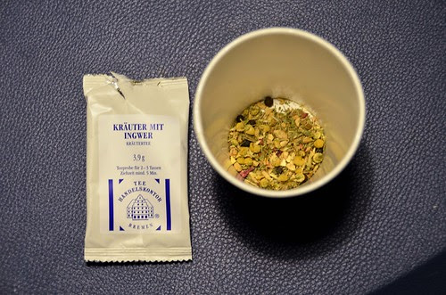 Tea from Hannover Train Station