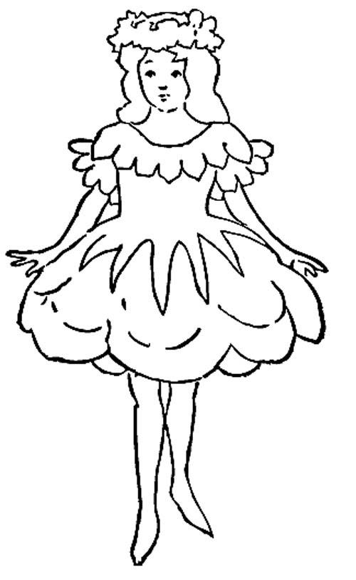 Prinzessin Vorlage Zum Malen Nd Zeichnen