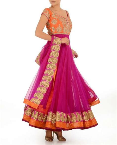 anarkali suit womens clothing ebay