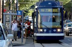 Portland Oregon streetcar