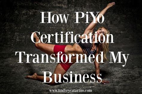 Piyo Instructor Training Uk