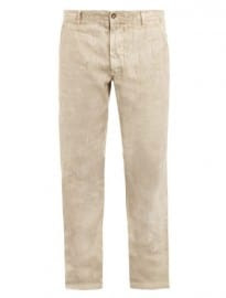 120 Lino Tailored Linen Trousers 143324