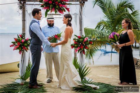 Portofino Beach Wedding. Ambergris Caye Photographer