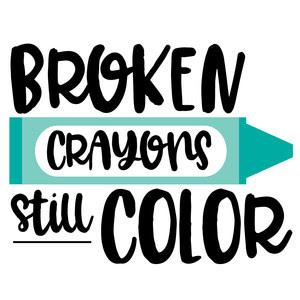 Silhouette Design Store View Design 277503 Broken Crayons Still