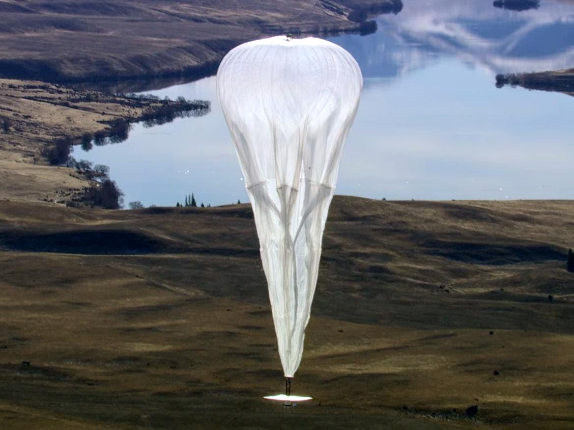 How Google Finds Its Project Loon Balloons