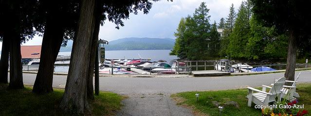 Georgeville on Lake Memphremagog in Quebec