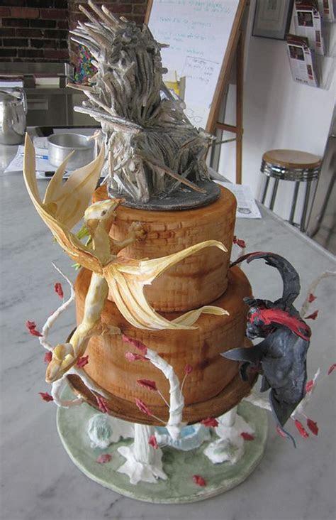 Game Of Thrones Wedding Cake   Dragon Cakes   Pinterest