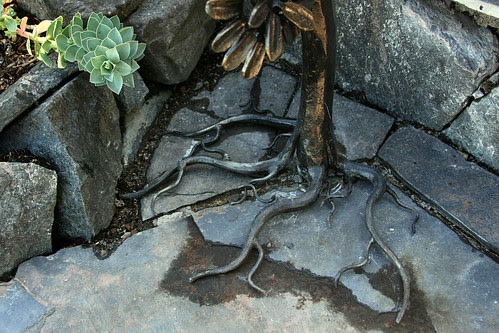 wrought iron roots