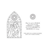 Gentle Peace Photopolymer Stamp Set