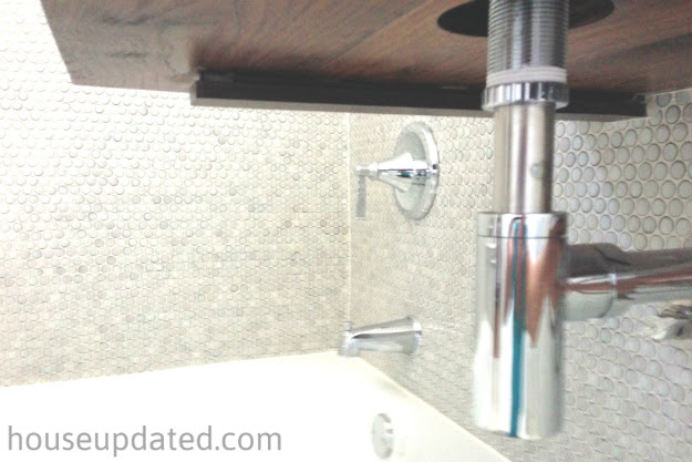 Unaligned Pipes For Bathroom Sink Home Depot Drain Sinks