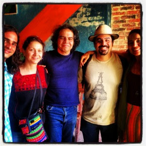 Members of Estudio Teatral Santa Clara, Cuba and Cara Mia Theatre.