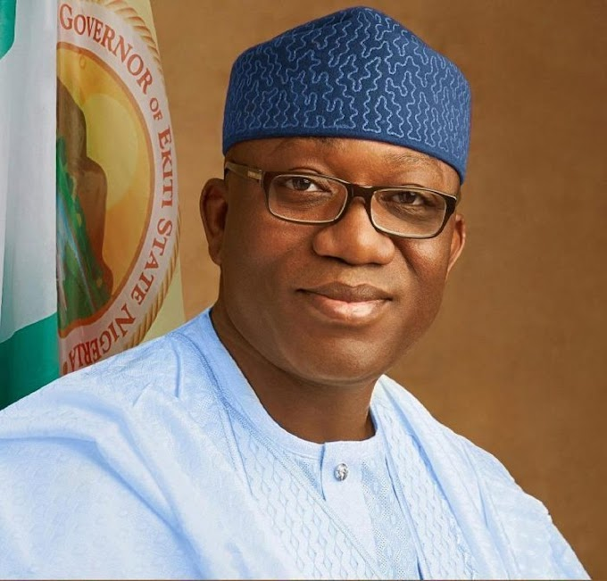 Fayemi swears in Acting CJ, wants special focus on sexual crimes