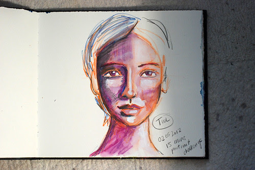 Daily Quick Portrait - 2nd May
