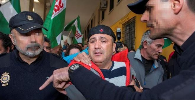 El edil de Jaén en Común Andrés Bódalo, detenido este miércoles. EFE